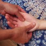 Parenthèse Bien-être : massage main