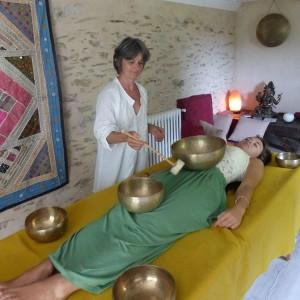 Parenthese Bien-être : massage sonore