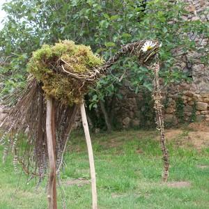 Parenthèse Bien-Etre : Land Art by Sylvaine Fontaine