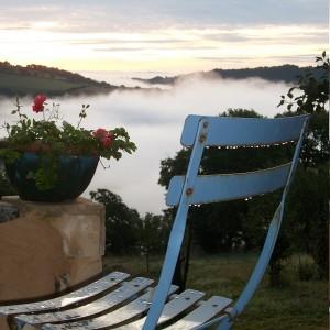 Parenthèse Bien-Etre : vue sur mer de nuages