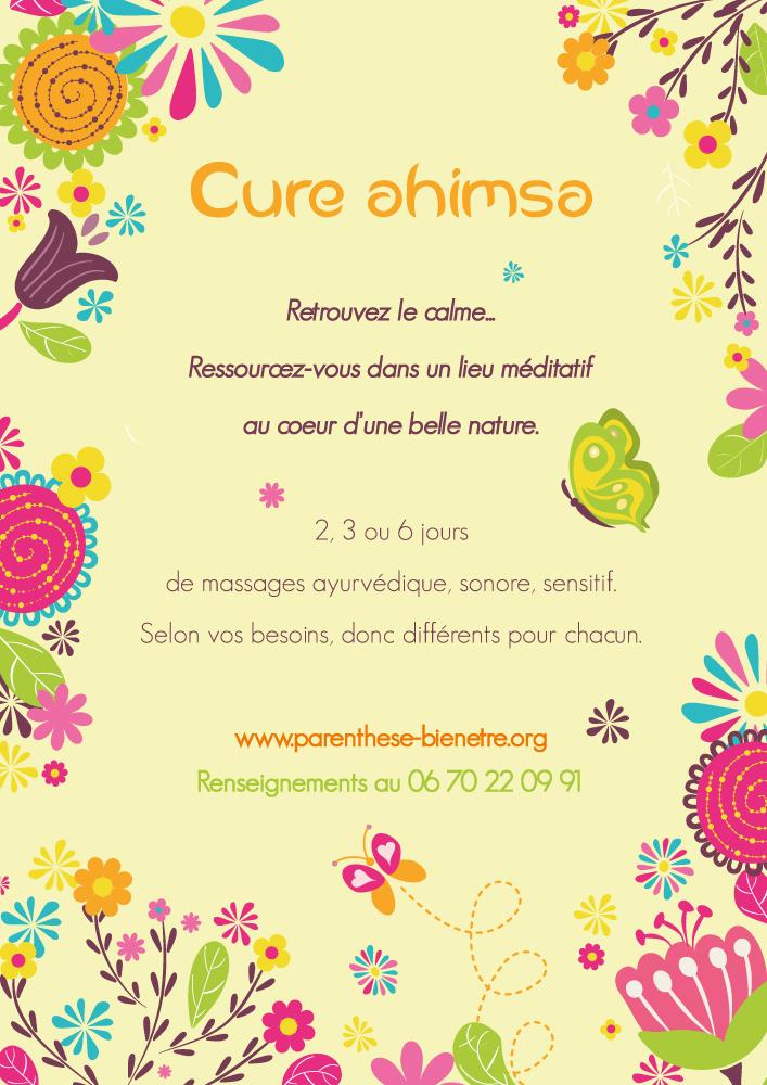 Parenthèse Bien-Etre : Cure Ahimsa